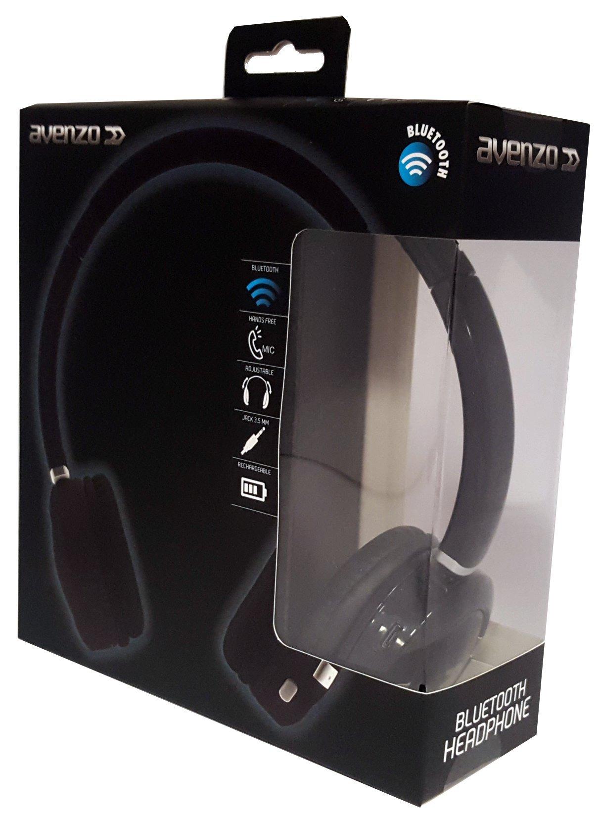 Avenzo AV618NG - Auricular Bluetooth, Color Negro: Amazon.es: Electrónica