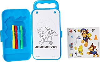 Paw Patrol Sticker Activity Kit | Party Favor | 1 plastic case with 20 activity pages and 4 markers
