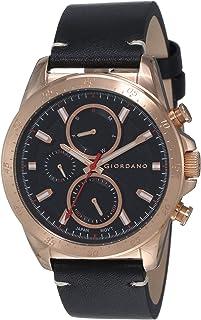 GIORDANO Men's Multi Function Black Dial Watch - 1942-04