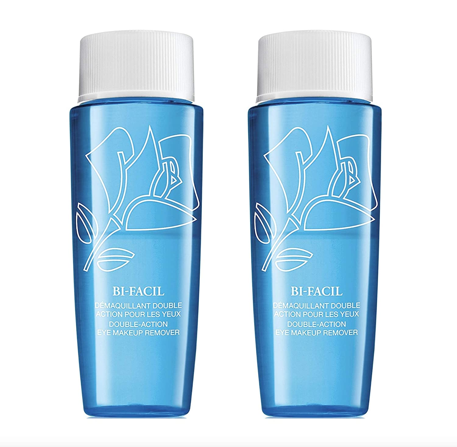 Bi-Facil Double Action Eye Makeup Remover 1.7 FL. OZ. Each (Lot of 2) by Lanc0me : Beauty & Personal Care