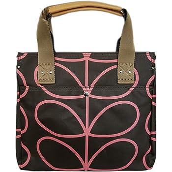Orla Kiely Womens Zip Messenger Shoulder Handbag