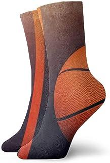 Baloncesto Baloncesto Patrón Hombres Mujeres Calcetines cortos 30cm Algodón Calcetines clásicos para Yoga Senderismo Ciclismo Correr Fútbol Deportes