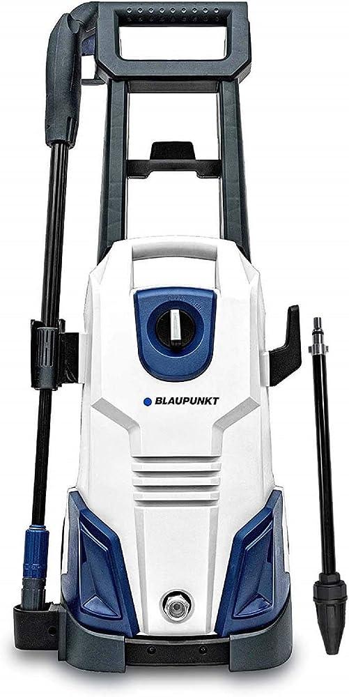Blaupunkt Hidrolimpiadora de Alta Presión PW4000 – 135 Bares - 1800 W – 450L/H Flujo - con Boquilla de Presión Alta/Baja, Boquilla Turbo - 3 Años de Garantía