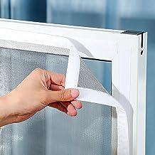 Universeel Venster Transparant Vliegenhor Venster Vliegenhor 150x200cm transparant horrengaas Eenvoudige installatie zonde...