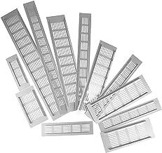 2 Stks Ventilaties Geperforeerd Vel Aluminium Legering Air Vent Rooster Witte Muur Ducing Ventilatie Cover Web Plate Venti...