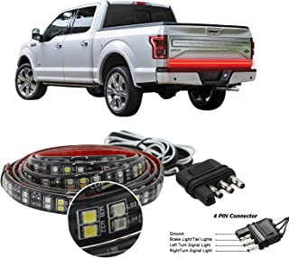 Truck Tailgate Light Bar Double Row LED Flexible Strip 60