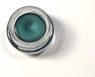 Avon Super Shock Eye Liner Metallic Teal in Glass Jar Gel