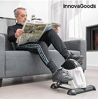 comprar comparacion InnovaGoods IG117155 Pedaleador de Fitness, Unisex Adulto, Blanco/Negro, Talla Única