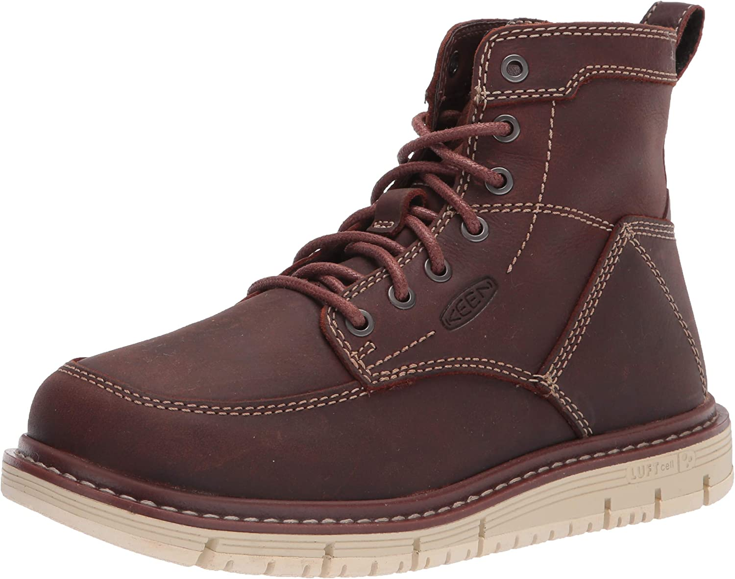 """KEEN Utility Women's San Jose 6"""" Soft Toe Wedge Work Boots Construction : Clothing, Shoes & Jewelry"""
