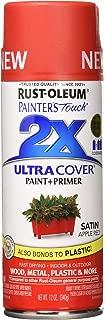 Rust-Oleum 315396 Painter's Touch Multi Purpose Spray Paint, 12 oz, Apple Red
