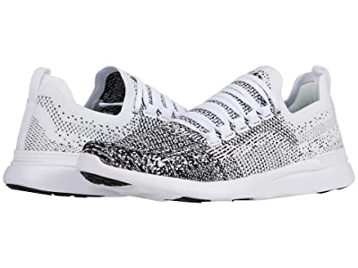 Athletic Propulsion Labs (APL) Techloom Breeze (White/Black/Ombre) Men