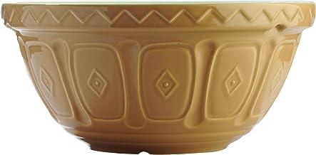 Mason Cash Cane Mixing Bowl, 29cm, White/Brown 28316