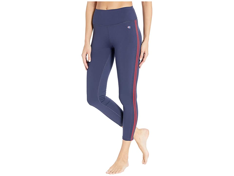 Champion Phys Ed High-Rise Tights (Imperial Indigo/Sideline Red) Women