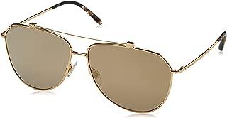 Dolce and Gabbana DG2190 02/5A Gold DG2190 Pilot Sunglasses Lens Category 3 Len