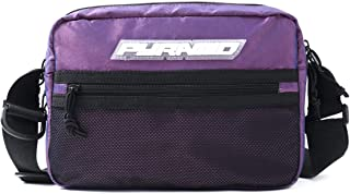 Black Pyramid Tech Sling Bag, Purple, One Size