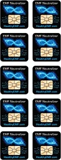 Cell Phone EMF Protection Radiation Neutralizers + Free $45 Voucher for 3 EMF Protection Buttons - 100% USA Made - Develop...