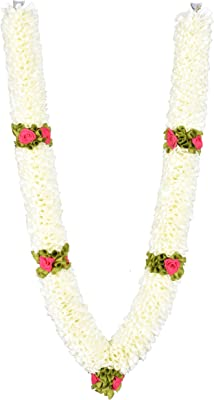 Daedal Crafters- Artificial One Meter Garland, White DC62
