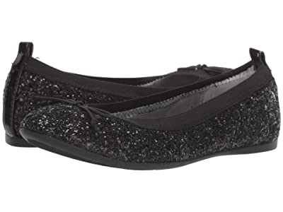 Nina Kids Esther (Little Kid/Big Kid) (Black Glitter) Girls Shoes