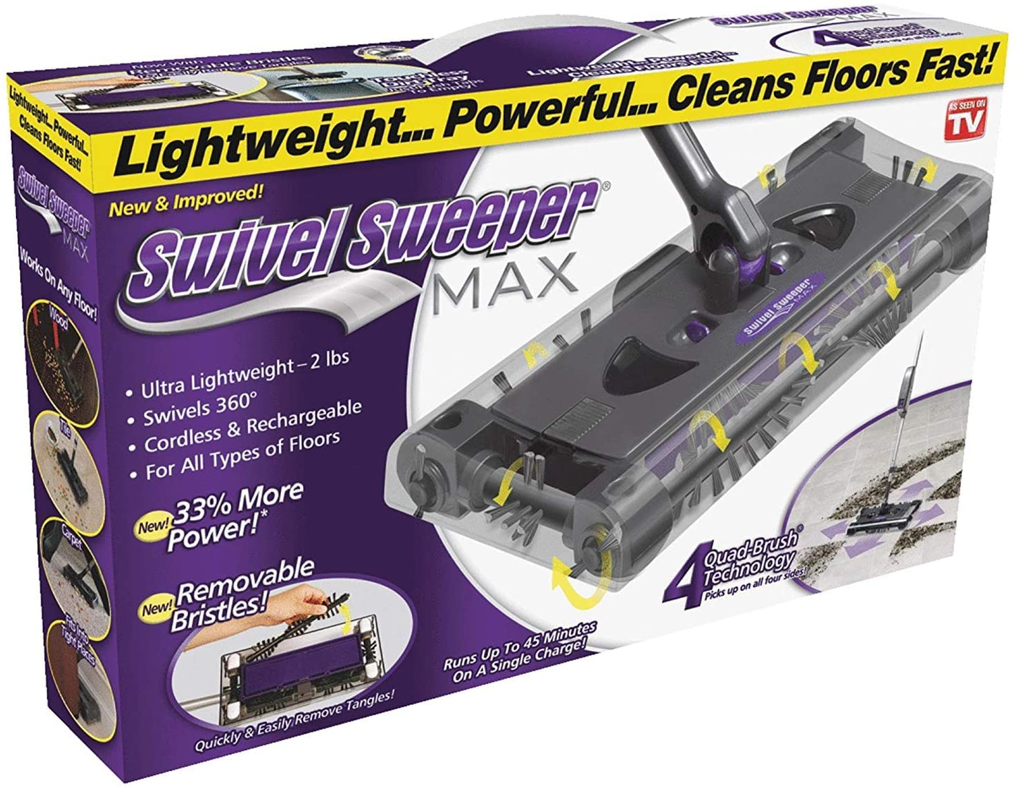 Cordless Swivel Sweeper – Original New life by Ranking TOP7 on TV Seen As