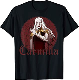 Netflix Castlevania Carmilla Portrait T-Shirt
