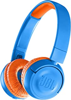 JBL JR300BT Kids Wireless Bluetooth On-Ear Headphones with Safe Sound Limited Volume to Protect Small Ears, Orange