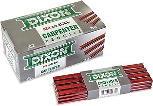 """Dixon Ticonderoga 19972 7"""" Medium Carpenter Pencil"""