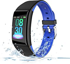 2019 Version Smart Watch, Fitness Tracker with Heart Rate & Blood Pressure & Sleep Monitor for Android & iOS, Waterproof Activity Tracker with USB Charging & Pedometer, Health Sport Watch for Women