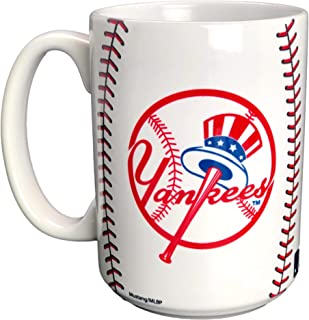New York Yankees Mug 15oz MLB Baseball Coffee Tea