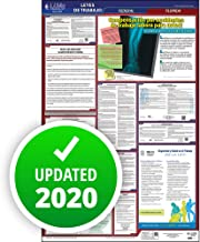 """2019 Florida Labor Law Poster, All-in-One OSHA Compliant FL State & Federal Laminated Poster (26"""" x 40"""" Spanish) for Workplace Compliance - J. J. Keller & Associates"""