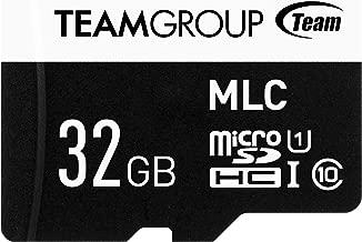 Team microSDHCカード 32GB 書換え耐性の強いMLCチップ搭載製品 ドライブレコーダ向き UHS-1 日本国内1年保証 SD変換アダプター付属 正規品