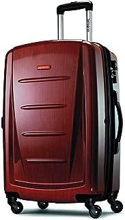 Samsonite Winfield 2 Hardside Luggage, Burgundy, Checked-Medium