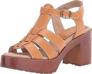 Sbicca Women's Gladiator Heeled Sandal, Tan, 6