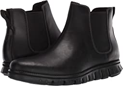 Waterproof Black Leather/Black