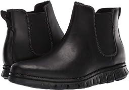 Waterproof Black Leather/Black