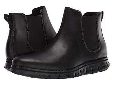 Cole Haan Zerogrand Chelsea WP (Waterproof Black Leather/Black) Men