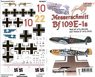 Superscale USA Messerschmitt BF 109E-1S Decals