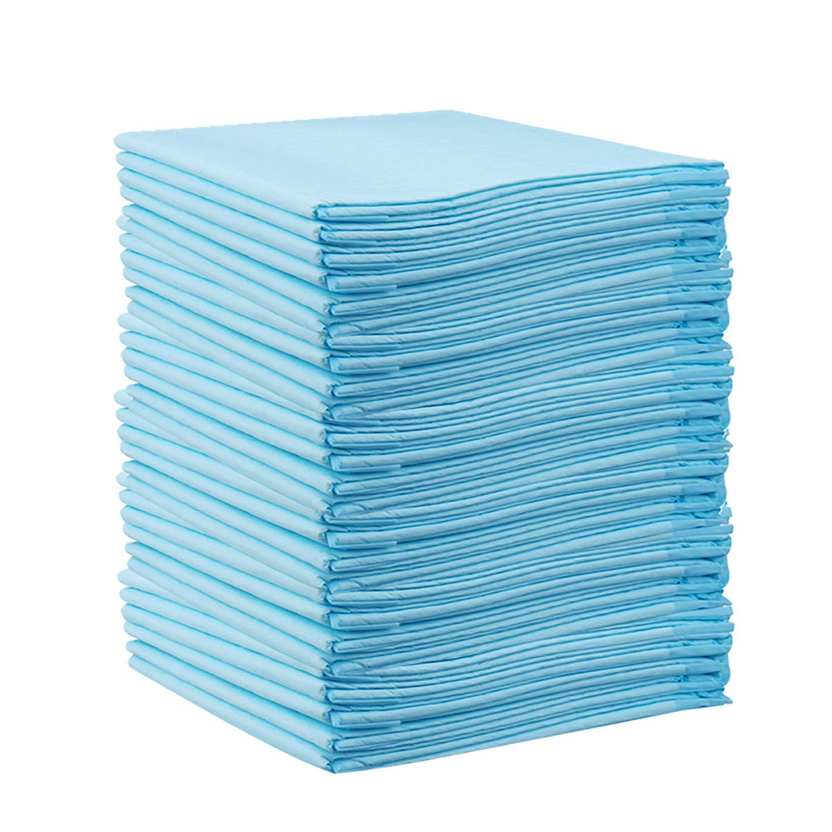 Baby Underpads 50 Pack(18×24 inch), Disposable Changing Pad, Reusable Portable Diaper Changing Mat, Leak-Proof Breathable Underpads Mattress Play Pad Sheet Protector.