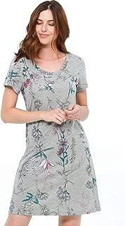 Jones New York Women's Sleepwear Nightgown One-Piece Nightwear Soft Lightweight Comfortable Nightshirt for Women