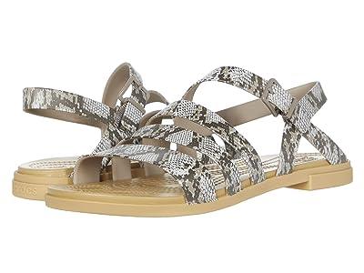Crocs Tulum Sandal (Mushroom/Stucco) Women