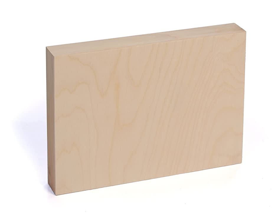American Easel 5 Inch by 7 Inch by 7/8 Inch Deep Cradled Painting Panel