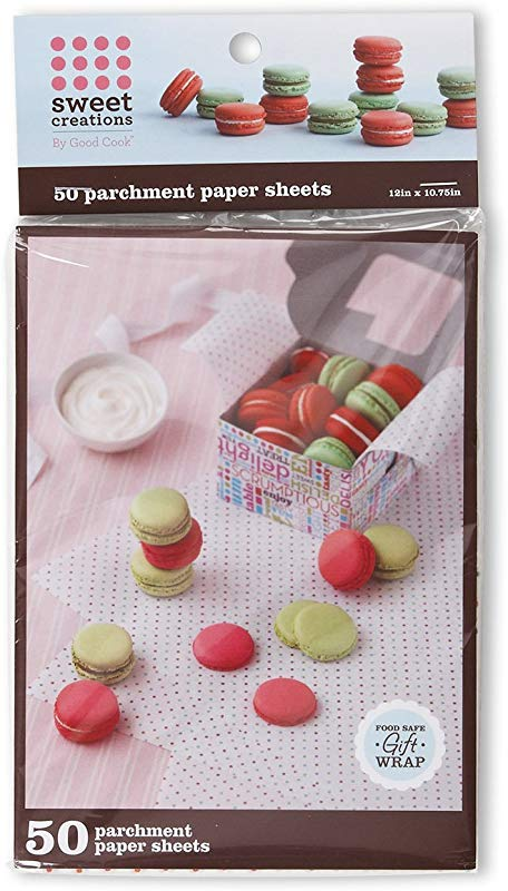 Sweet Creations Food Safe Parchment Paper Gift Wrap 50 Count