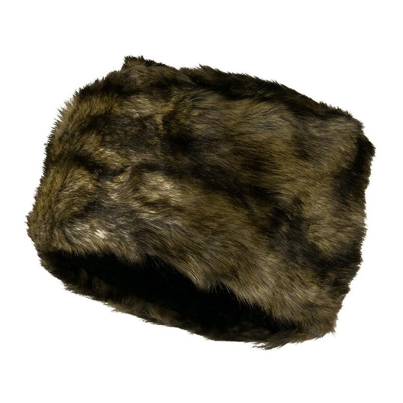 アボート間違っているレコーダーWoman 's FauxファーCloche Hat?–?コーヒーw13s32d