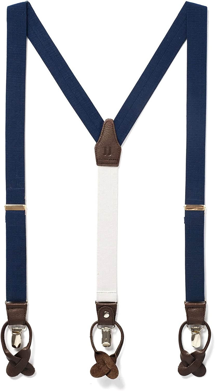 JJ SUSPENDERS Woven Textured Y Suspenders with 25% OFF D for ! Super beauty product restock quality top! Men Leather