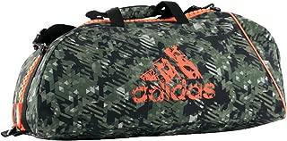 Adidas ADIACC053B-O-M Combat 053 Camo/Orange Bag-Medium