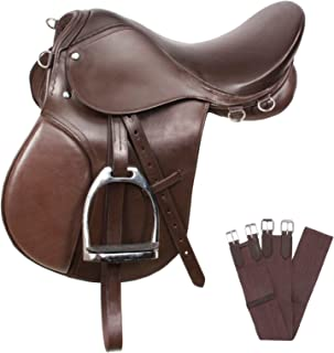 AceRugs New Brown All Purpose English Riding Horse Saddle