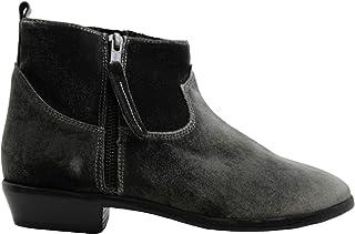 حذاء حريمي من Steve Madden Aero، بمقدمة لوز، رمادي مخملي (8، رمادي مخملي، رمادي)