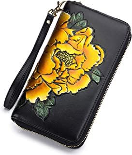 Baellerry RFID Wallets for Women Leather Purses for Women Credit Card Holder