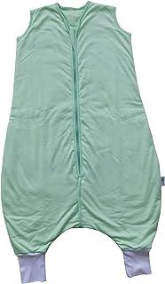 Slumbersac Saco de dormir de verano con pies 1.0 Tog varios colores y varios tama/ños desde el nacimiento hasta 6 a/ños azul marino Talla:5-6 a/ños