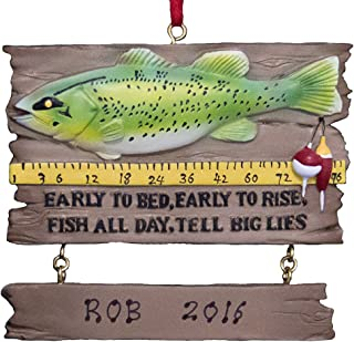 Best fishing christmas ornaments Reviews