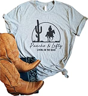 Pancho Lefty Country Music Shirt Willie Nelson Tshirt Merle Haggard T-Shirt